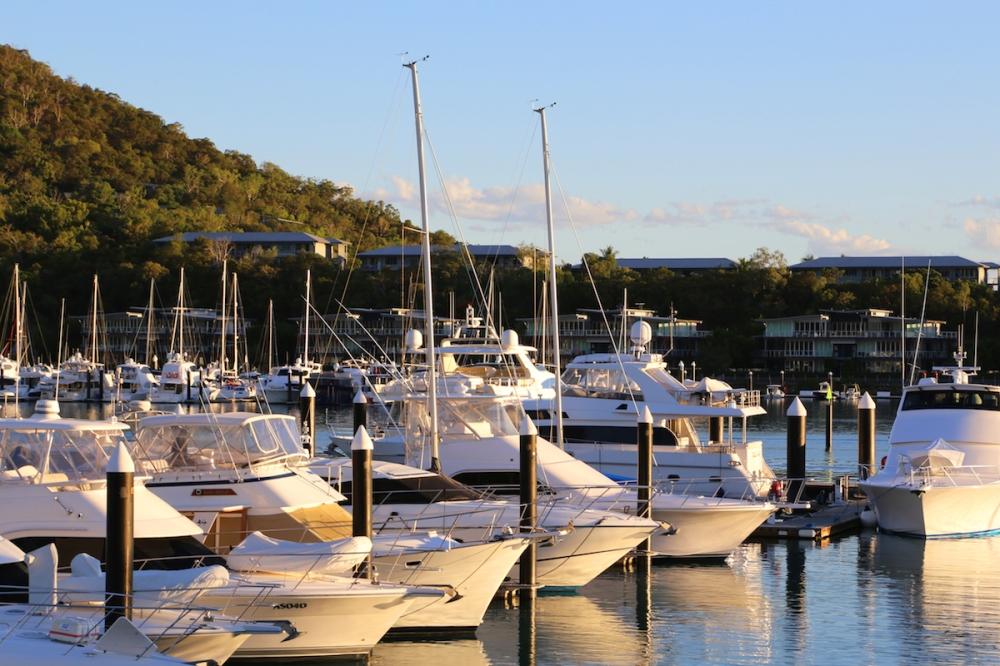 Hamilton Island, Great Barrier Reef, Travel, Beach, Summer, Queensland, Australia, Heart Reef, Pier, Boats