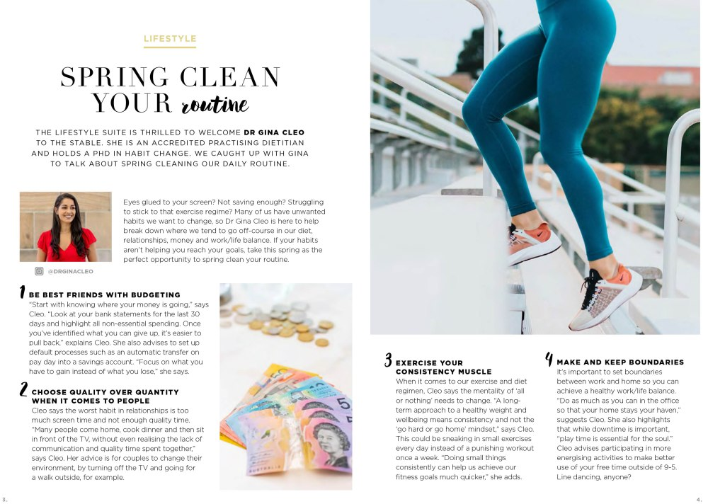 TLS Spring Clean your Routine